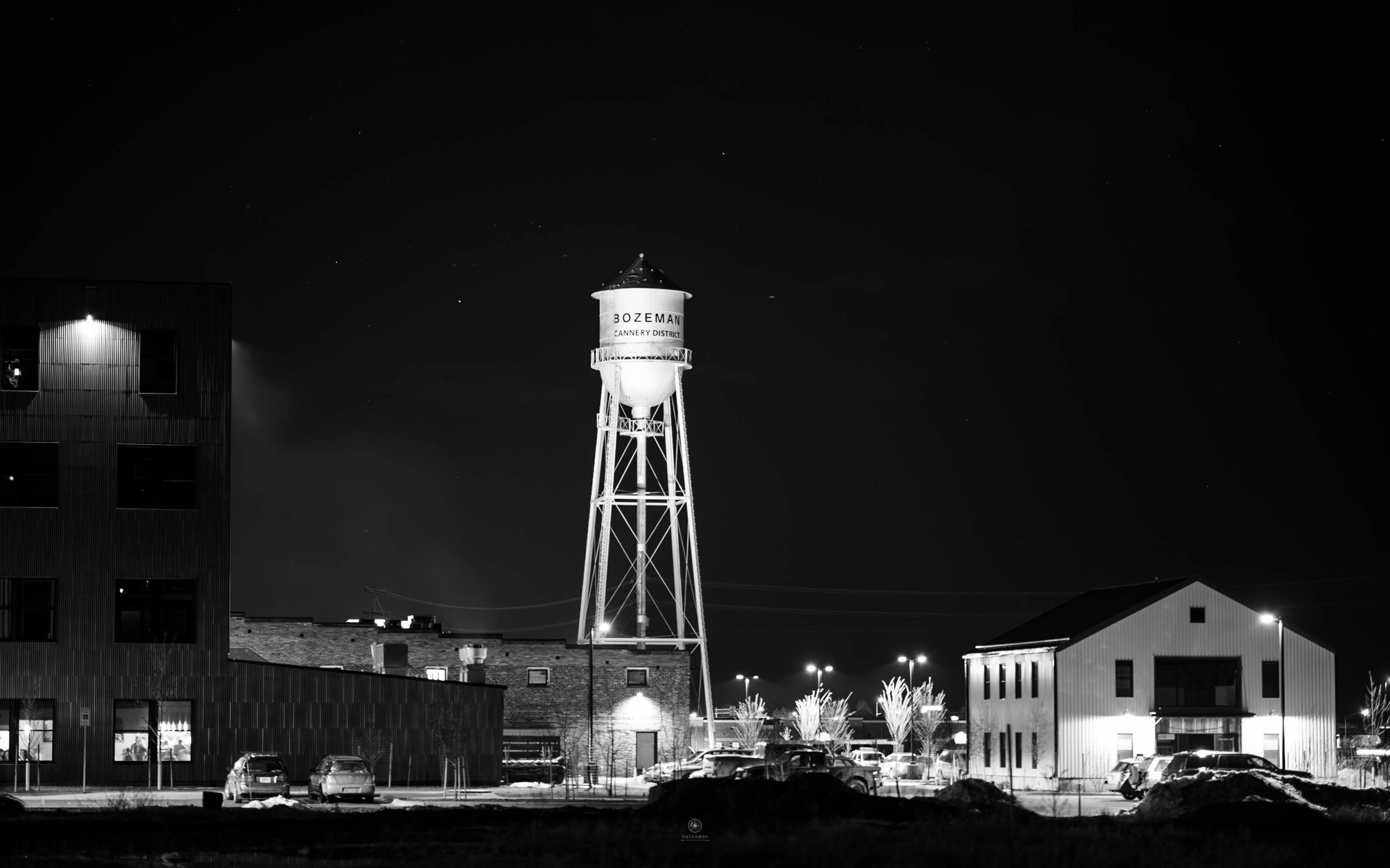 Bozeman Cannery District Watertower